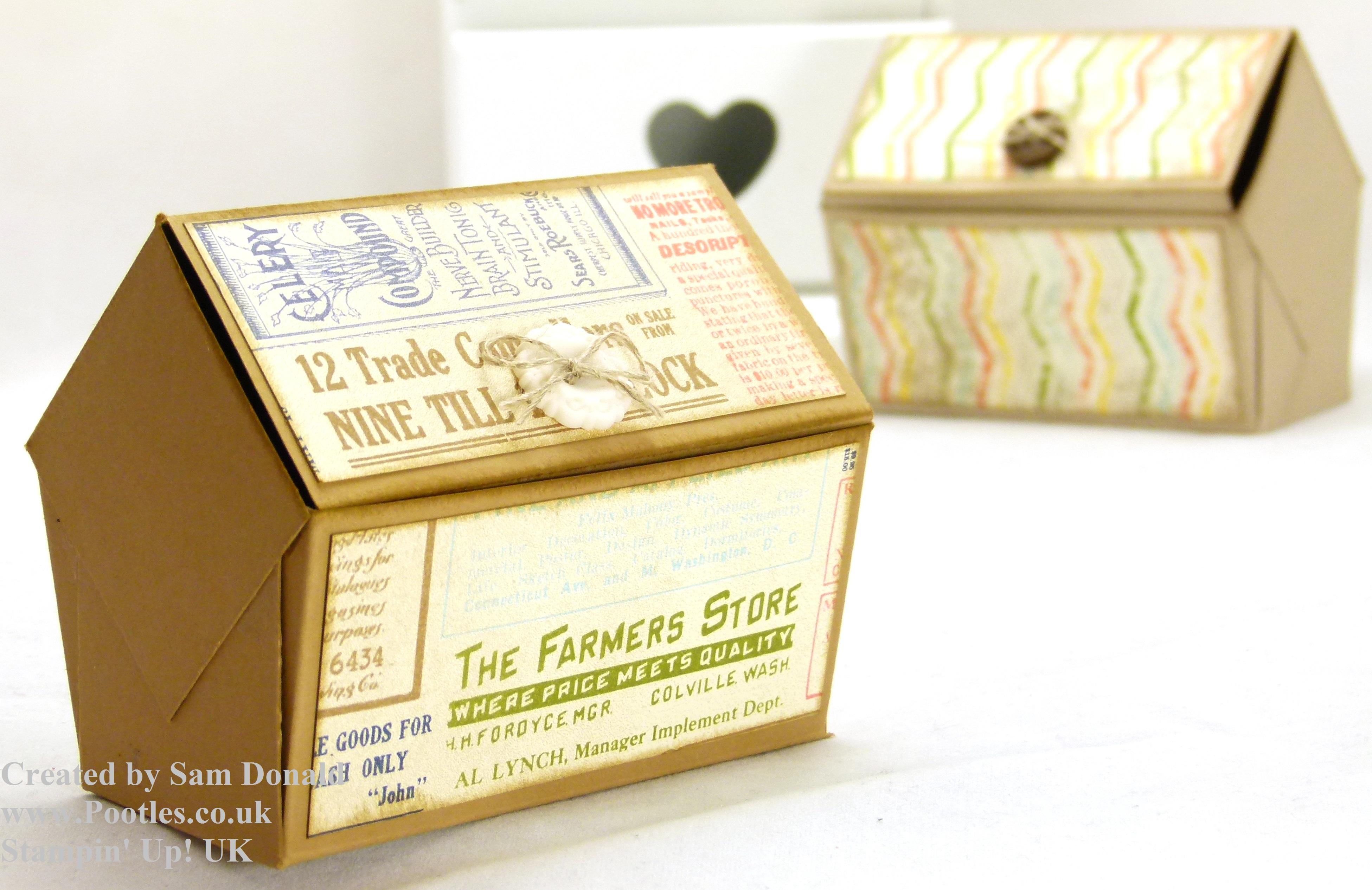 how to make a paper treasure box