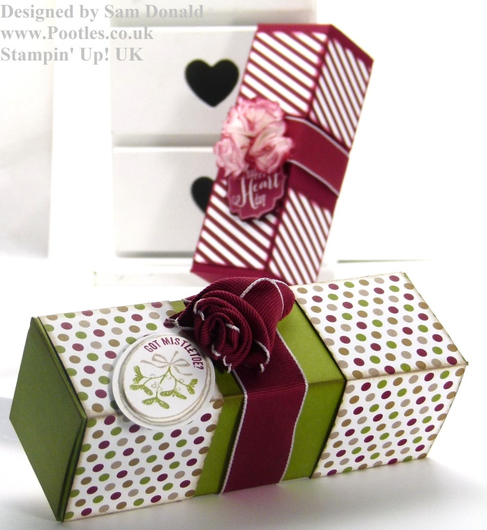 Pootles Stampin Up blog Hop box 4