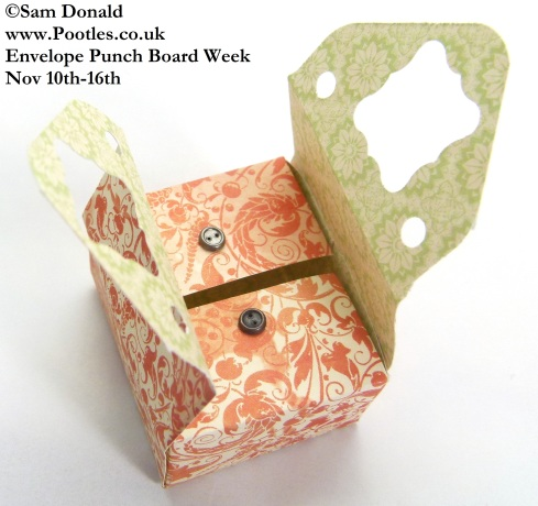 POOTLES Stampin Up ENVELOPE PUNCH BOARD WEEK The Sewing Style Box 2