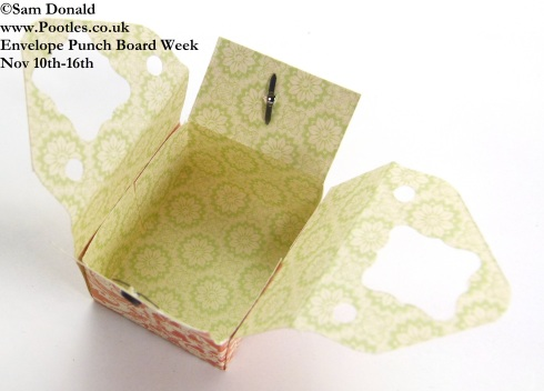 POOTLES Stampin Up ENVELOPE PUNCH BOARD WEEK The Sewing Style Box