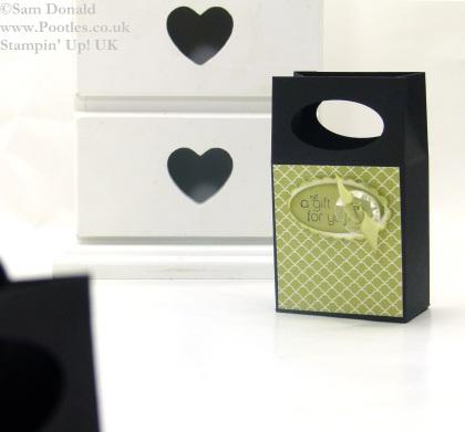 POOTLES Stampin Up UK Mini Gift Bag Box 3