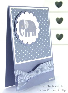 Stampin' up! UK Demonstrator Pootles - Wisteria Wonder Zoo Babies