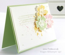 Stampin' Up! UK Independent Demonstrator Pootles - Soft and Subtle Pansies and Petite Petals
