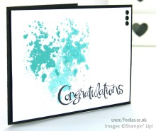 Stampin' Up! UK Pootles - Congratulations those Sassy Salutations!