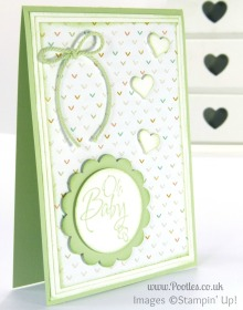 Stampin' Up! UK Pootles - Lullaby Baby We've Grown